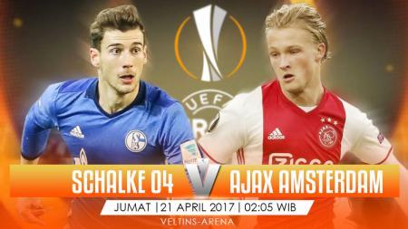 Prediksi Schalke vs Ajax Amsterdam. - INDOSPORT