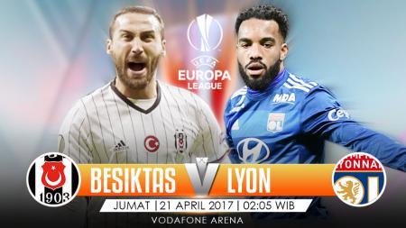 Prediksi Besiktas vs Olympique Lyon. - INDOSPORT