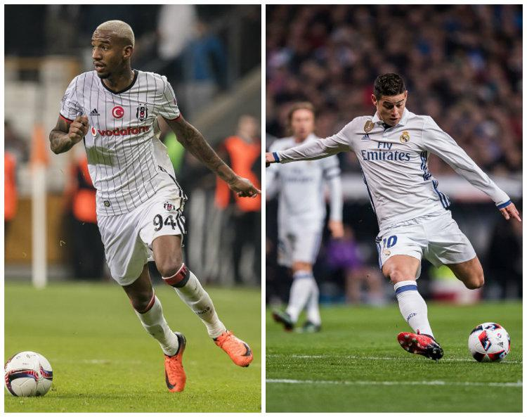 Anderson Talisca dan James Rodriguez. Copyright: Getty Images