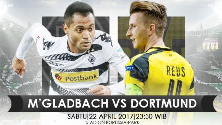 prediksi Borussia M'GLadbach vs Borussia Dortmund. - INDOSPORT