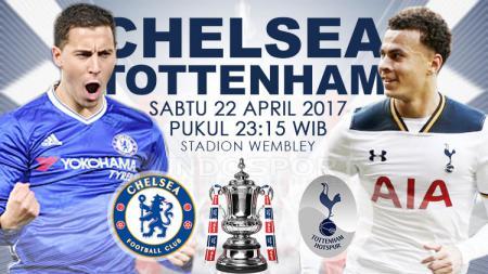 Prediksi Chelsea vs Tottenham Hotspur. - INDOSPORT