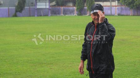 Hans-Peter Schaller masih bungkam soal marquee player Bali United. - INDOSPORT