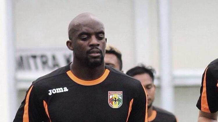 Mitra Kukar belum bisa menurunkan Mohamed Sissoko saat melawan PSM Makassar. Copyright: Instagram @mitrakukarfc