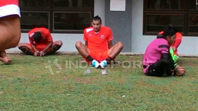 Bruno Alves (Persija Jakarta) Copyright: Gerry Anugrah Putra/Indosport
