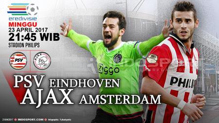 Prediksi PSV Eindhoven vs Ajax Amsterdam. - INDOSPORT