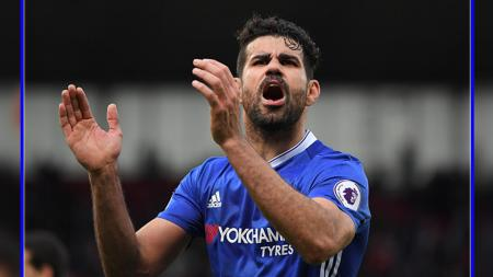 Diego Costa, striker Chelsea. - INDOSPORT
