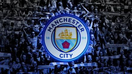 Logo Manchester City.