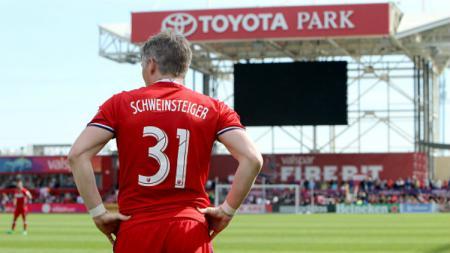 Pemain anyar Chicago Fire, Bastian Schweinsteiger. - INDOSPORT