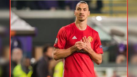 Zlatan Ibrahimovic, striker Man United. - INDOSPORT