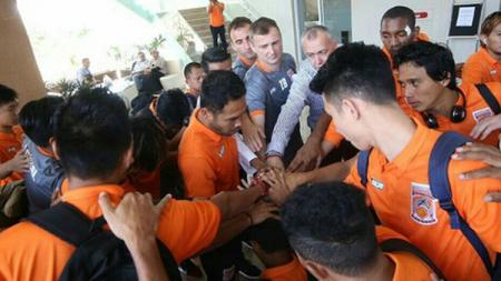Skuat Borneo FC jelang laga melawan Sriwijaya FC - INDOSPORT