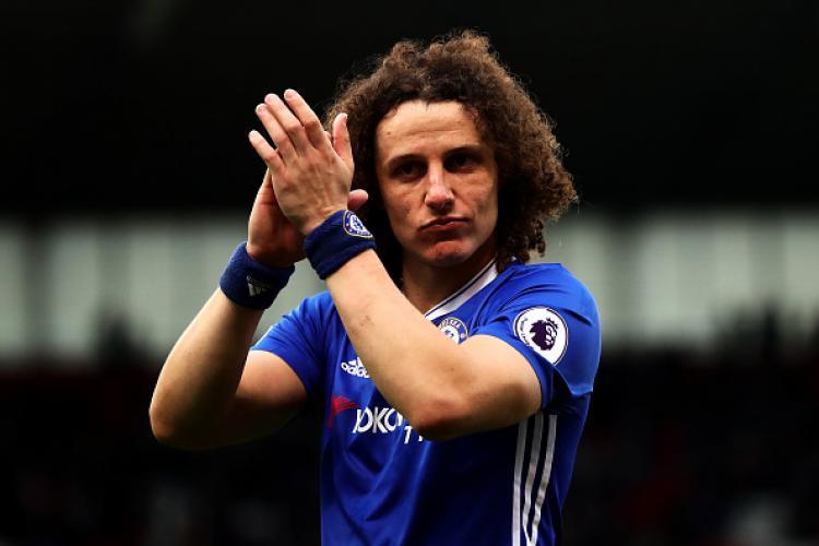 David Luiz, bek tengah Chelsea. Copyright: Chris Brunskill Ltd/Getty Images