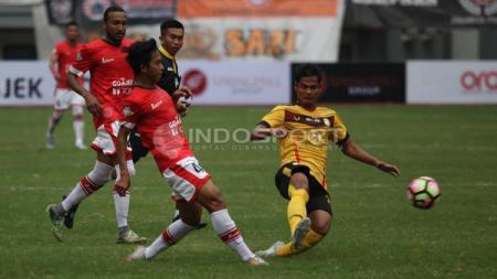 Persija Jakarta vs Barito Putera. - INDOSPORT