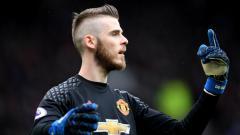 Indosport - Kiper andalan Manchester United, David De Gea.