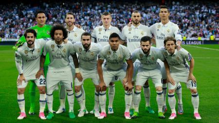 Skuat Real Madrid. - INDOSPORT