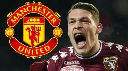Manchester United dikabarkan akan mengaktifkan nilai klausul Andrea Belotti.