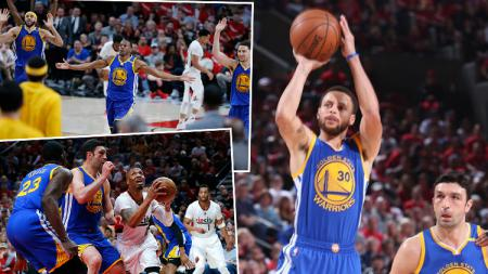 Golden State Warriors v Portland Trail Blazers. - INDOSPORT