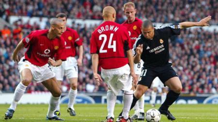 Ronaldo mencetak hattrick yang bunuh harapan Manchester United. - INDOSPORT