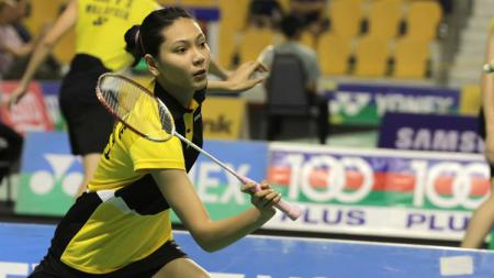 Atlet bulutangkis Indonesia, Gloria Emanuelle Widjaja, tengah kurang enak badan. - INDOSPORT