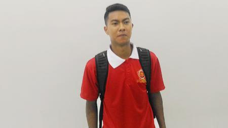 Striker PS TNI, Gustur Cahyo. - INDOSPORT