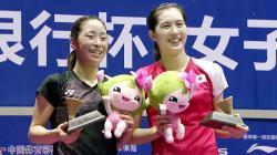 Aya Ohori (kanan) dan Saena Kawakami.