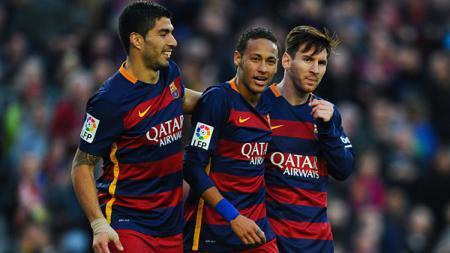 Trio MSN miliki rekor lebih baik ketimbang BBC. - INDOSPORT