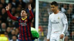 El Clasico jilid 266 menjadi milik Messi dan Ronaldo.