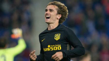 Bintang Atletico Madrid, Antoine Griezmann. - INDOSPORT