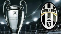 Indosport - Logo Juventus dan Liga Champions