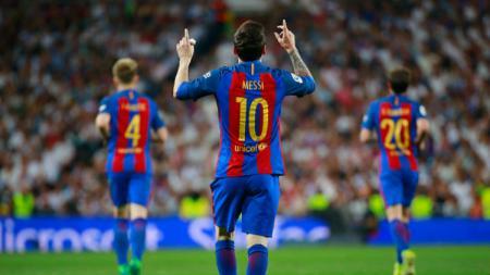 Bintang Barcelona, Lionel Messi. - INDOSPORT