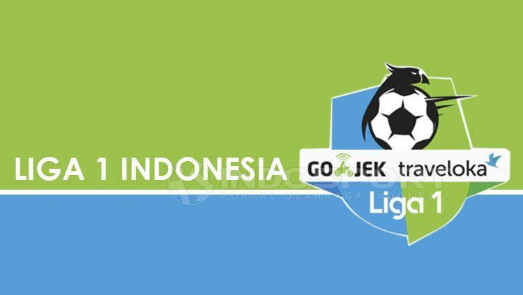 Logo Liga 1. Copyright: Grafis: Eli Suhaeli/INDOSPORT/Liga 1