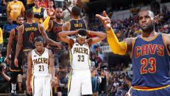 Indosport - Cleveland Cavaliers menjadi tim pertama yang lolos ke semifinal play-off NBA Wilayah Timur.