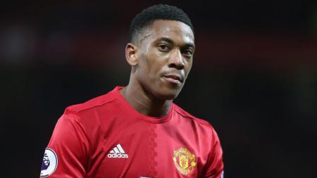 Penyerang Manchester United, Anthony Martial. - INDOSPORT