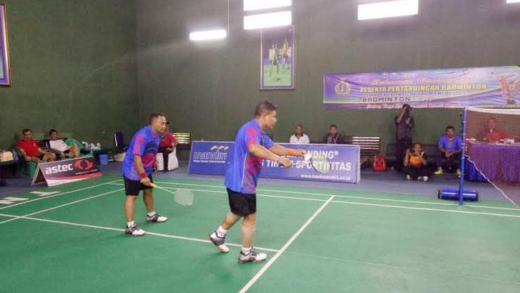 Penutupan Pekan Olahraga Angkatan Laut (Poral) Badminton Tahun 2017. Copyright: www.tnial.mil.id