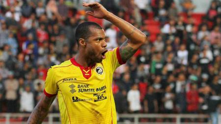 Hilton Moreira saat memperkuat Sriwijaya FC di tahun 2017 lalu. - INDOSPORT