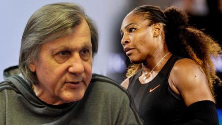 Ilie Nastase dan Serena Williams. - INDOSPORT