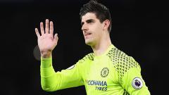 Indosport - Kiper Chelsea, Thibaut Courtois.