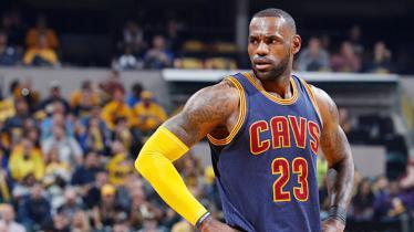 Pebasket Cleveland Cavaliers, LeBron James. - INDOSPORT