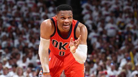 Pebasket Oklahoma City Thunder, Russell Westbrook. - INDOSPORT
