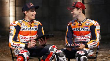 Marc Marquez dan Dani Pedrosa. - INDOSPORT