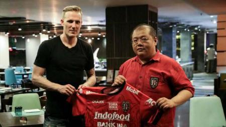 Marquee player Bali United, Nick Van Der Velden. - INDOSPORT