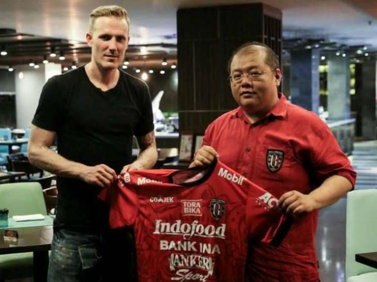 Marquee player Bali United, Nick Van Der Velden. Copyright: Muhammad Qomaruddin/INDOSPORT