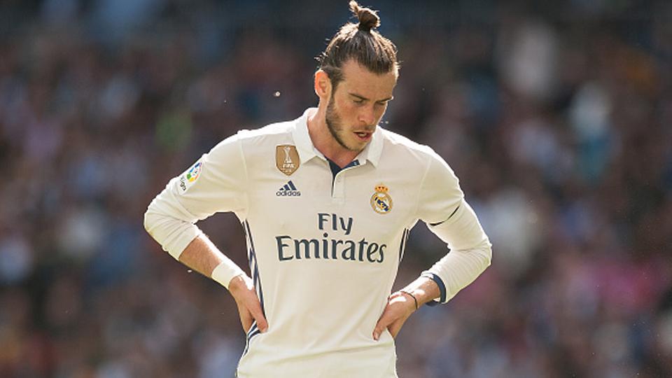 Pemain megabintang Real Madrid, Gareth Bale. Copyright: Denis Doyle/Getty Images