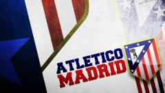 Indosport - Logo Atletico Madrid.