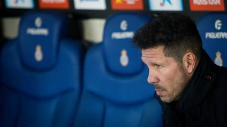Pelatih Atletico Madrid, Diego Simeone. - INDOSPORT