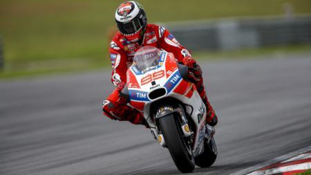 Pembalap Ducati, Jorge Lorenzo. - INDOSPORT