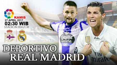 Prediksi Deportivo La Coruna vs Real Madrid. - INDOSPORT