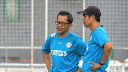 Pelatih Arema FC, Aji Santoso. - INDOSPORT