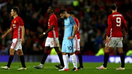 Setelah datangkan Sergio Aguero dari Manchester City, Barcelona ingin gaet bintang buangan Manchester United, Memphis Depay pada bursa transfer. - INDOSPORT