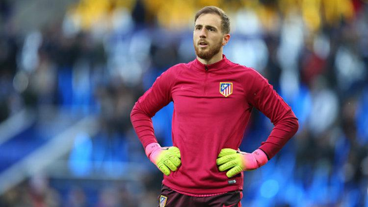Kiper utama Atletico Madrid, Jan Oblak. Copyright: Catherine Ivill - AMA/Getty Images