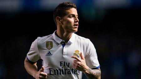 Gelandang bintang Real Madrid, James Rodriguez. - INDOSPORT